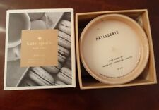 Kate Spade NY Bon Voyage Large Scented Candle 10 oz New Box Patisserie Macarons