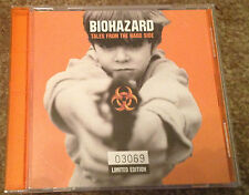 Biohazard Tales From The Hard Side limited edition EP CD 4 tracks 2 live RARE