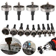 13×HSS Stahl Hartmetall Lochsäge Bohrkrone  Kreisschneider Kernbohrer Für Metal