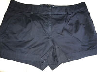 """J Crew Size 6 Navy Blue 100% Cotton 3.5"""" Inseam Casual Shorts PERFECT Women's"""