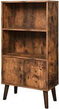 Schrank Regal Bücherregal Retro Bücherschrank Vintage Holzoptik