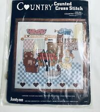 Country Counted Cross Stitch Janlynn Country Things