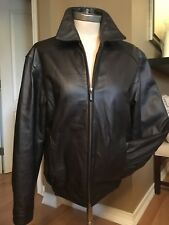 Mens leather jacket By Round tree And Yorke