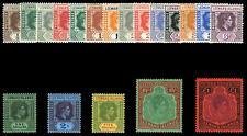 Leeward Islands 1938 KGVI set complete superb MNH. SG 95-114c.