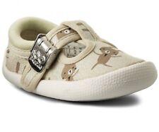 "Clarks Children's Choc Cake First Shoes, Choc Cake"" Size 2 F"
