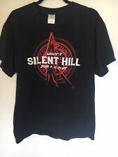 Welcome to Silent Hill Death is No Escape - Horror - Men's Xl Black T-Shirt Rare