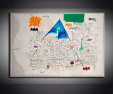 "Jean-Michel Basquiat ""UNTITLED,1986"" HD print on canvas huge wall picture 36x24"""