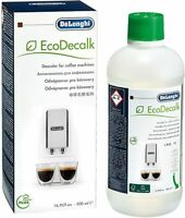 Descaler Liquid Solution EcoDecalk 500ml for Coffee & Espresso Machines delonghi