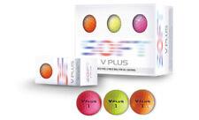 V Plus Color Soft Golf Balls 6 Ball Color Pack Pink - Orange - Green Balls