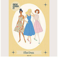 The Elsie Dress Womens Stylish Ladies Sewing Pattern UK Size 8-20