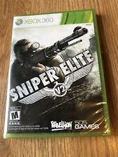 Sniper Elite V2 Xbox 360 Game Brand New Factory Sealed ES