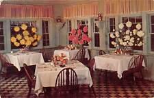 Santa Maria Inn, California, A Section on the Inn Dining Room 1952