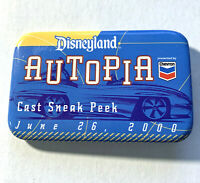 Disney Vintage PInback Button Cast Exclusive Sneak Peek New Autopia June 2000