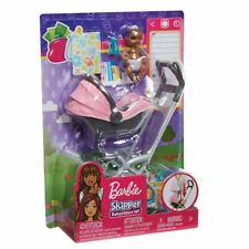 BARBIE SKIPPER BABYSITTERS INC AA BABY DOLL and STROLLER PLAYSET