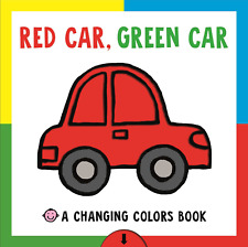 Red Car, Green Car by Roger Priddy (2017, Board Book)