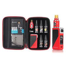 E Zigarette Rot 60 Watt Mod Kit Akkuträger Full Kit E Shisha Starterset e Liquid