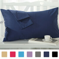 Body Pillowcase Pillow Case Cover Egyptian Cotton 300 Thread Count 2-Piece