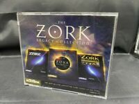 THE ZORK LEGACY COLLECTION 4 DISC PC CD-ROM GAME