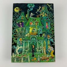 Springbok House on Haunted Hill 100 pc Vintage 1973 puzzle complete