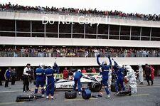 Nelson Piquet Brabham BT52 French Grand Prix 1983 Photograph 2