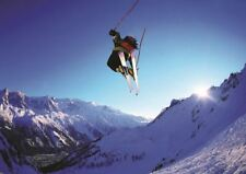 DOWNHILL SKIING XTREME SPORTS A3 PRINT POSTER GZ351
