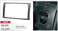 CARAV 11-137 2Din Marco Adaptador Kit de Radio SSANG YONG Rexton 2007-2012