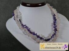 Echtschmuck-Halsketten & -Anhänger mit Rosenquarz-Schönheits