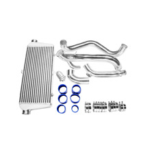 CXR FMIC INTERCOOLER Piping KIT + BOV For 89-99 Nissan 240SX S15 S14 SR20DET