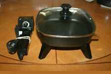 Continental Personal Electric Skillet (Model BQ600-H)