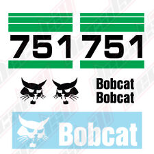 Bobcat 751 Skid Steer Set Vinyl Decal Sticker - Aftermarket