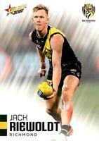 ✺New✺ 2020 RICHMOND TIGERS AFL Premiers Card JACK RIEWOLDT Footy Stars