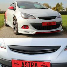 JOM Kühlergrill Opel Astra J GTC 3-tür Sportgrill Frontgrill schwarz ohne Emblem