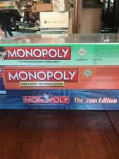 Lot Of 3 Brand New Monopoly Games Here& Now .COM Play Faster