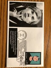 Famed Pop Art Artist Andy Warhol and the First Day Cover of his own stamp