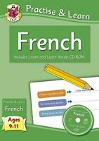 Práctica & Learn: Francés (Edades 9-11) - con Vocab Cd-Rom por Richard Parsons,