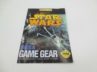 Star Wars (Sega Game Gear, 1993) Manual