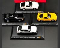 Kyosho Initial D 1:64 Toyota TRUENO AE86 Racing Sport Car Diecast Model Car Set