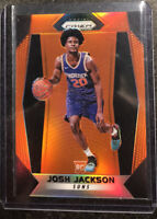 2017-18  Panini Prizm Josh Jackson Orange Rookie #61 /49🔥