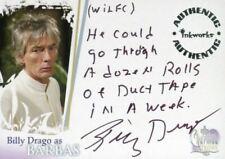 Charmed Destiny Billy Drago as Barbas Autograph Card A-9 Variant #6