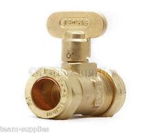 Ventilatore rigide gas COCK 15mm in ottone valvola di isolamento Approvato
