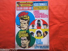 FUMETTO=L'AVVENTUROSO=SUPPLEMENTO AL N°3 SETT/OTT. 1973=2 STORIE COMPLETE