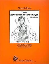 Adventures of Tom Sawyer: Novel-Ties Study Guide (Novel-Ties Ser.) by Mark Twain