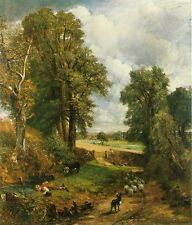 John Constable The Cornfield Oil Painting Giclee Canvas Print reproduction