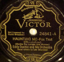 EDDY DUCHIN & ORCHESTRA Haunting Me VICTOR SCROLL78-24841 Speak To Me With Your