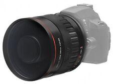 500mm f/6.3 Telephoto Mirror Lens for Canon EOS Rebel 650D 1100D 1000D 550D T4i