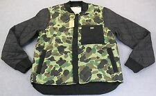 Ralph Lauren Denim & Supply Mens Camo with Black Quilted Ripstop Jacket  NWT  XL