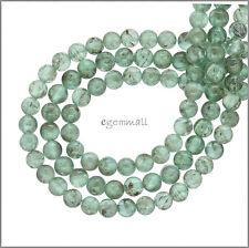"Blue Green Apatite Round Beads ap.5-5.5mm 15.3"" #85281"