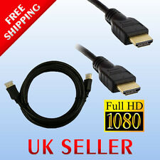 1.8M M Cavo HDMI v1.4 HD 1080P VIDEO PER TV, HDTV, DVD, BLURAY, Media Player 1.4