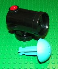 LEGO - Duplo Cannon Shooting w/ Red Firing Button & Duplo Cannon Ball - Black