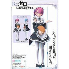 Re:Zero kara Hajimeru Isekai Seikatsu Ram Sega Prize PVC Figure New In Box